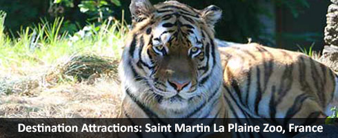Destination Attractions: Saint Martin La Plaine Zoo France
