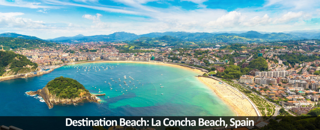 Destination Beach La Concha Beach Spain Traveloni