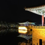 Donggung Palace and Wolji Pond at Night