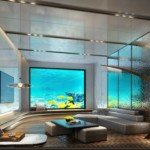 Family Suite Room with under water view