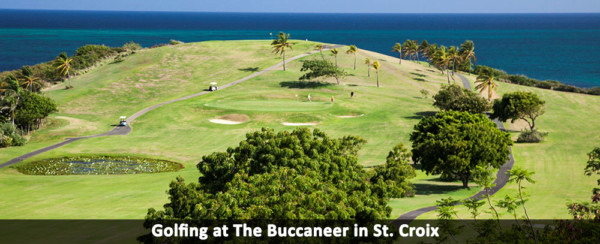 Golfing at The Buccaneer in St. Croix