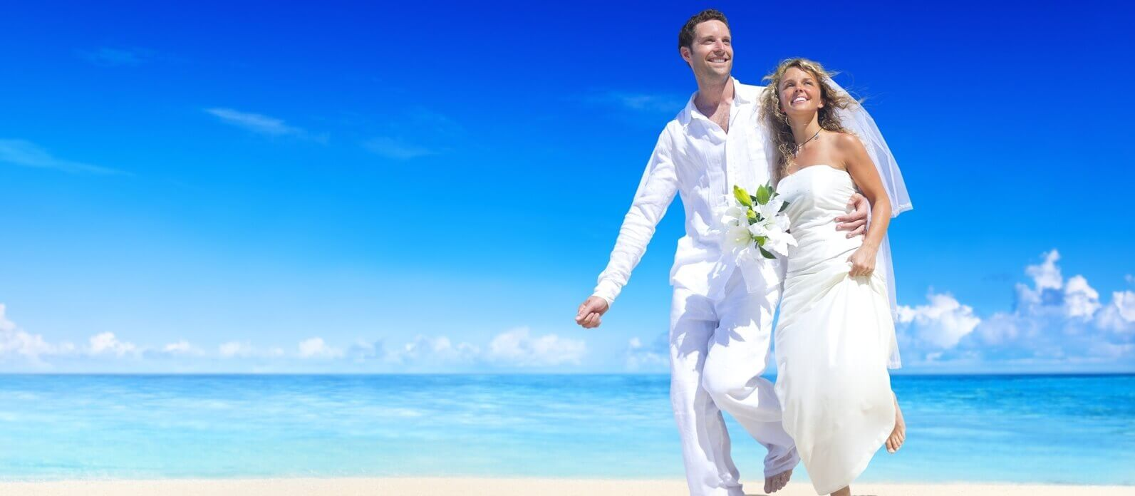 Iberostar Wedding Couple on Beach