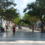 Pedestrian Street Diving Old & Central Havana
