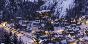 Romance in Courchevel, France