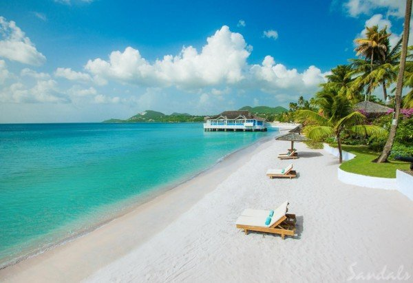 Sandals Halcyon Beach - Luxury Vacations