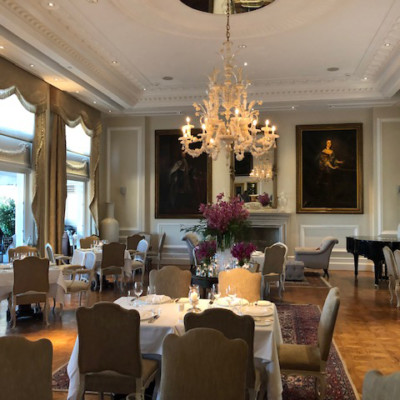 Tudor Hall Restaurant in King George Hotel