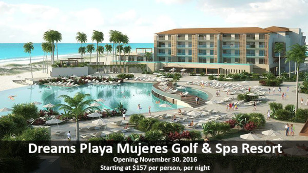 Dreams Playa Mujeres Golf & Spa Resort - All Inclusive Vacations