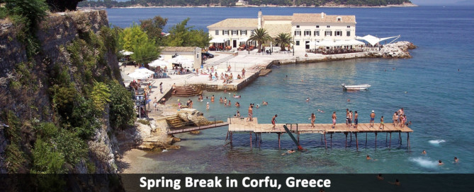 spring break corfu
